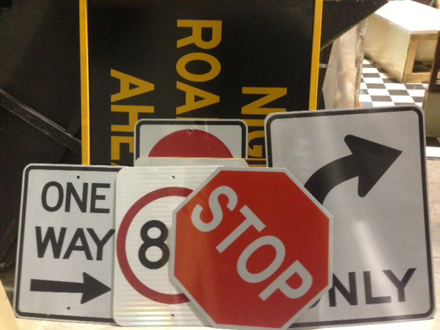 Road Signs - Prop For Hire