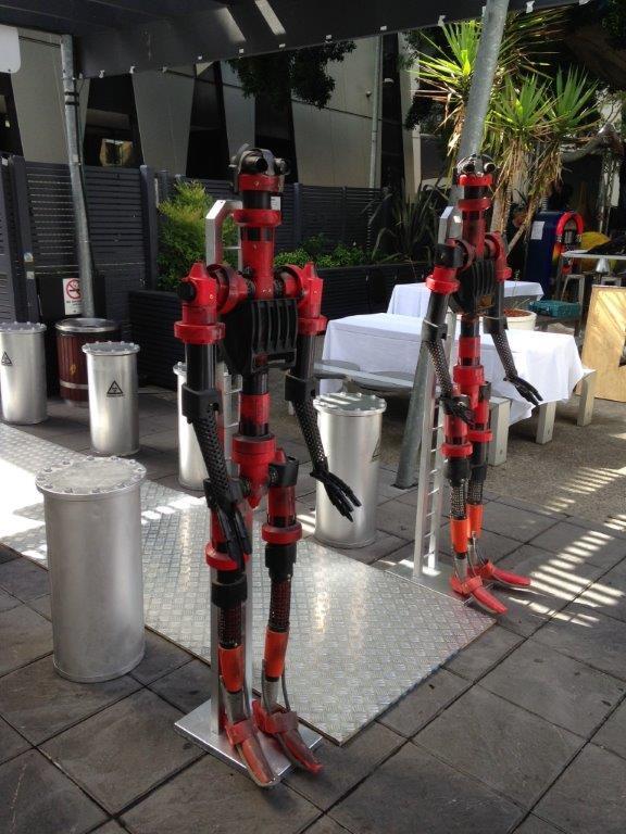 Robot Entrance - Prop For Hire