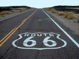 Route 66 Road Print - Prop For Hire
