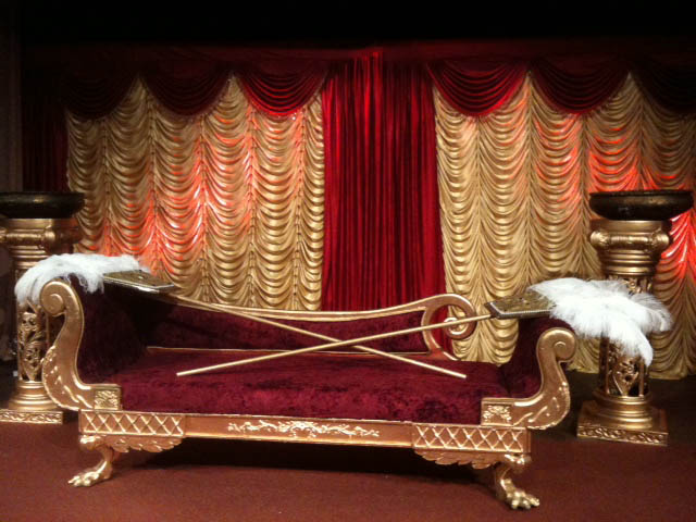 Royal Egyptian Scene - Prop For Hire