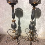 Rustic Candelabrah 2 - Prop For Hire