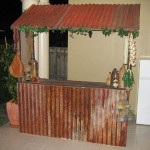 Rustic Food Stand - Prop For Hire
