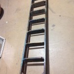 Rustic Shelf Ladder - Prop For Hire