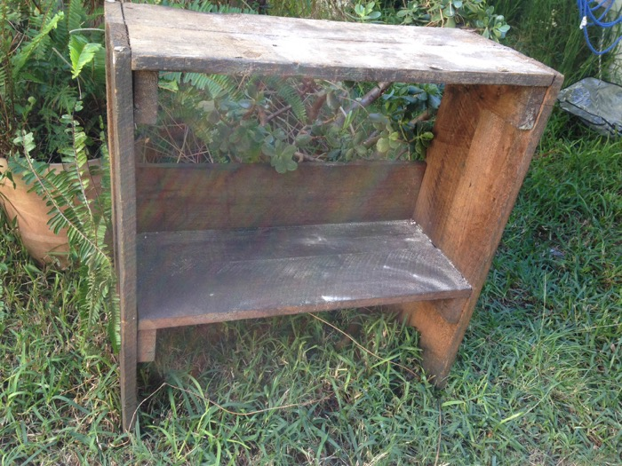 Rustic Standing Crate - Prop For Hire