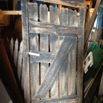 Rustic Timber Gate - Prop For Hire