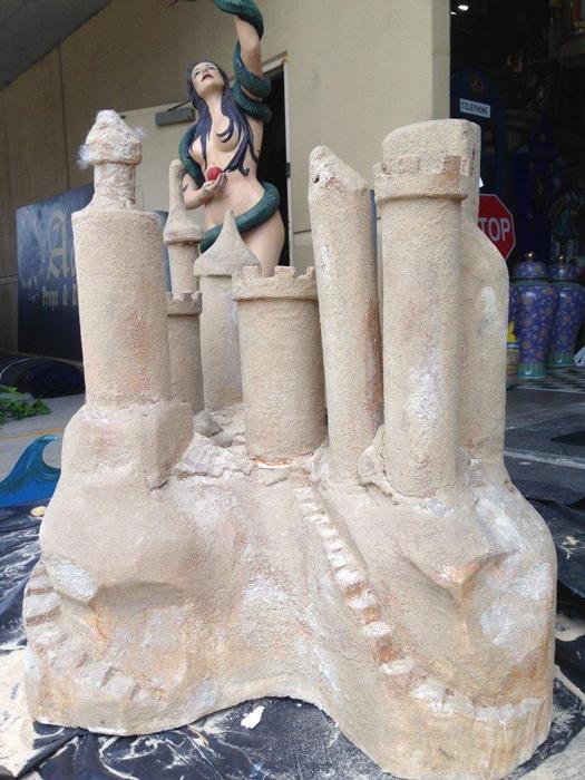 Sandcastle - Prop For Hire