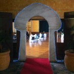 Sandstone Arch Entrance - Prop For Hire