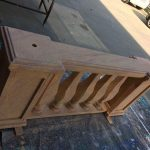 Sandstone Balustrades - Prop For Hire