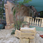 Sandstone Columns 1 - Prop For Hire