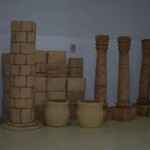 Sandstone Columns 2 - Prop For Hire