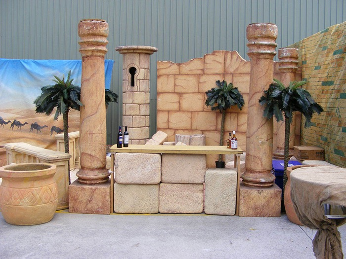 Sandstone Items - Prop For Hire