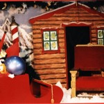 Santa Backdrop - Prop For Hire