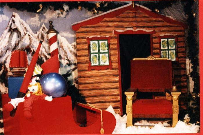 Santa Backdrop - Prop For Hire