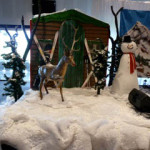 Reindeer Snow Scene - Prop For Hire