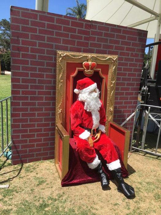 Santa Mannequin - Prop For Hire