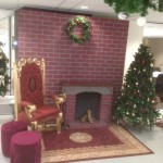 Santa Set Fireplace - Prop For Hire