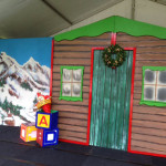 Santa Workshop Backdrop - Prop For Hire