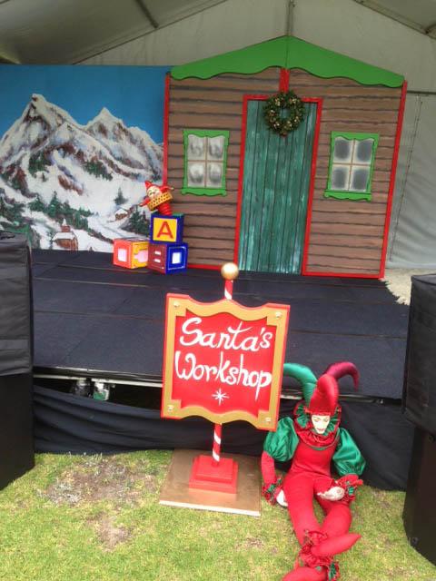 Santa'S Workshop Sign - Prop For Hire
