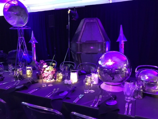 Saturn Tablecentres - Prop For Hire