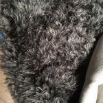 Shaggy Charcoal Carpet - Prop For Hire