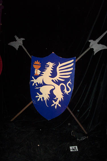 Shields With Pikes - Prop For Hire