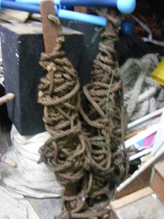 Ships Rigging Rope - Prop For Hire