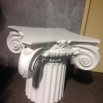 Short Ornate Plinth - Prop For Hire