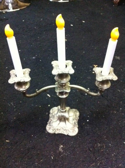 Silver Table Candelabrah - Prop For Hire
