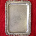 Silver Tray 2 - Prop For Hire