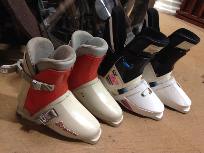 Ski Boots - Prop For Hire
