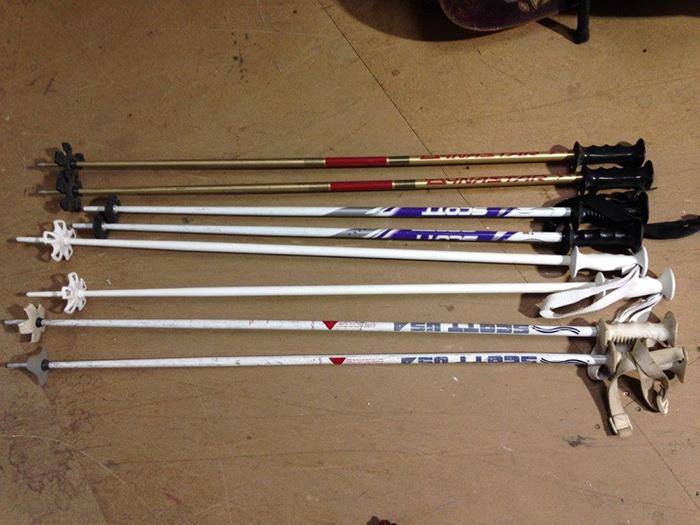 Ski Poles - Prop For Hire