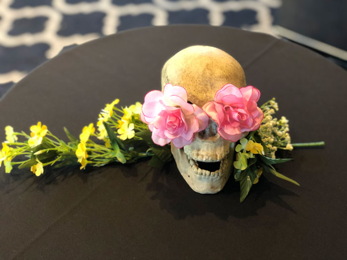 Day of the Dead Skull - Prop For Hire