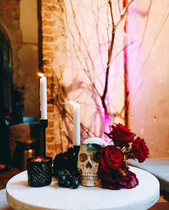 Skulls and Candles - Prop For Hire