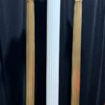 Slender Ribbed Columns - Prop For Hire