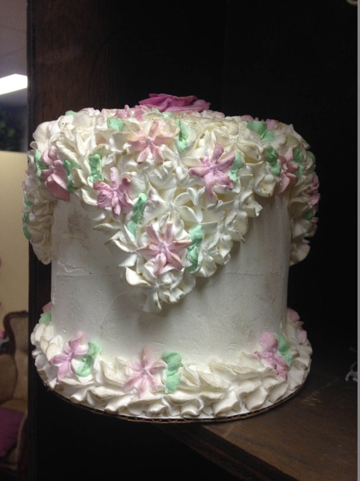 Small Floral Cake - Prop For Hire
