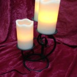 Small Medieval Candelabra 2 - Prop For Hire