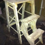 Small Step Ladder - Prop For Hire