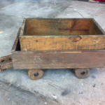 Small Wooden Cart - Prop For Hire