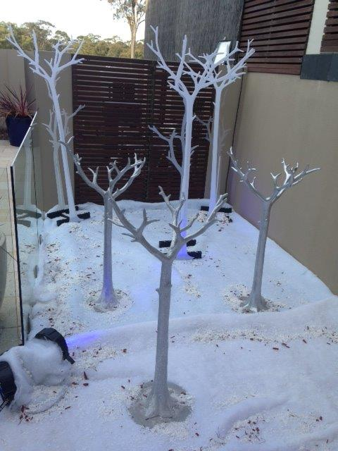 Snow Trees - Prop For Hire