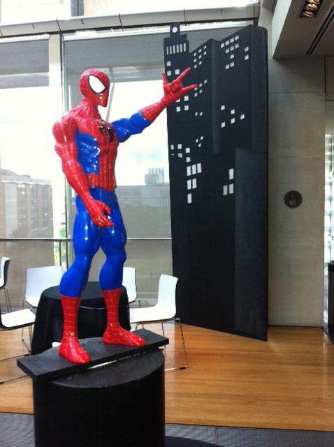 Spiderman Statue - Prop For Hire