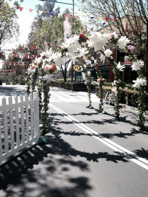 Spring Flower Arch - Prop For Hire