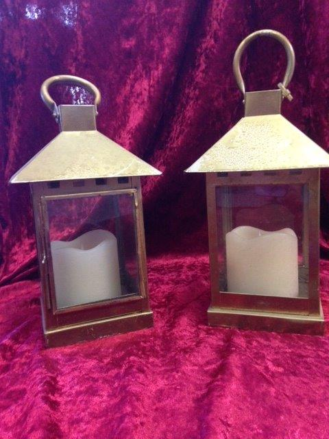 Square Lanterns - Prop For Hire