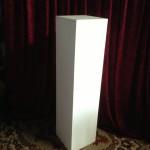 Square Medium Plinth - Prop For Hire