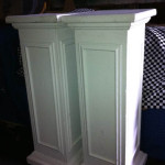 Square Ornate Plinths - Prop For Hire