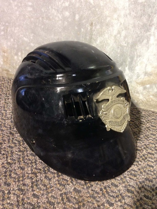State Police Helmet - Prop For Hire