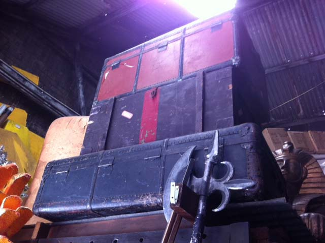 Steamer Trunks - Prop For Hire
