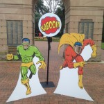 Superhero Photo Cutouts - Prop For Hire