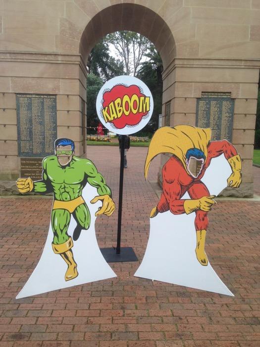 Superhero Photo Cutouts - Prop For Hire