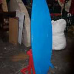 Surfboards On Stand - Prop For Hire