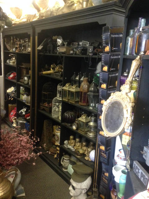 Tall Black Ornate Shelves - Prop For Hire